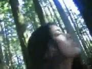 วัยรุ่น NISIT นศใจแตกแอบเย็ดกันในป่าตอนเข้าค่ายอาสา ซั่มหีจนฟินน้ำแตกไปเลยค่ะ