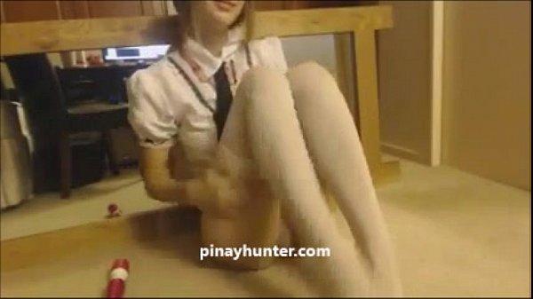 สาวสวยฝรั่งผิวขาวเนียนตั้งกล้องโชว์แคม Live ให้หนุ่มๆดูไม่ยอมให้เห็นหน้าแต่เกี่ยวหีคลึงนมแน่นล้นมือบีบเบาๆนะ